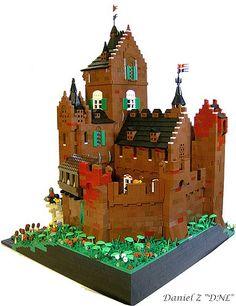 Castle Weijenaard, a dutch style castle for the CCCVII.