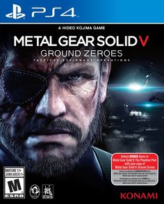 Amazon.com: Metal Gear Solid V: Ground Zeroes - PlayStation 4 Standard Edition: Video Games