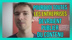 Pourquoi TOUTES les entreprises devraient publier du CONTENU, même le BOULANGER ! (29/365) : https://www.youtube.com/watch?v=Pp1kliYymbE&index=2&list=PLlNaq4hbeacQso7BcO89UKoc9r0qh5kCL :) #Entreprises #Entreprise #Entrepreneur #Contenu