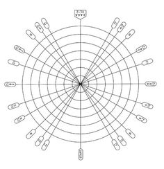 The Dividing Web: A Handy Tool for Making Evenly Spaced Patterns All the Way Around a Piece of Pottery