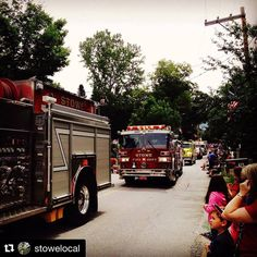 The biggest little parade South of Stowe and North of Waterbury happens 10 am Monday #stowelocal #Repost