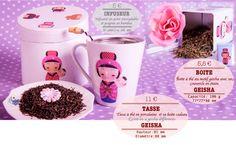 Tasse à thé en porcelaine avec une boite cadeau Capacité : 0,25 L Hauteur : 85 mm Diamètre : 88 mm  Boite avec un couvercle en étain Capacité : 100 g 77 * 77 * 98 mm