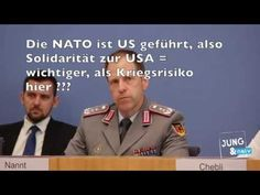 NATO Kriegsspiele Eiertanz peinliche Fragen, Bundespressekonferenz