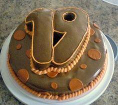 birthday cake 19 years