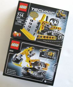 Lego Technic 8259 Mini Bulldozer or mini Excavator (2 in 1) set new sealed VHTF item....$27.95