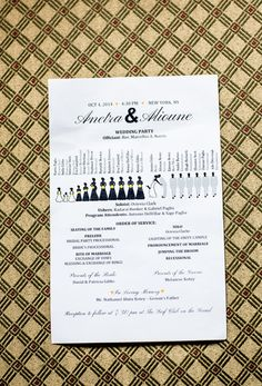 Invitations: The Write Approach and Ella Gent Ink on Etsy
