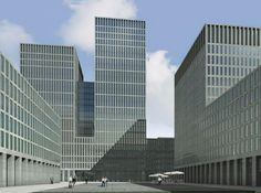 Max Dudler Architekt + Atelier WW | Rascacielos conjunto Hagenholzstrasse, Zurich