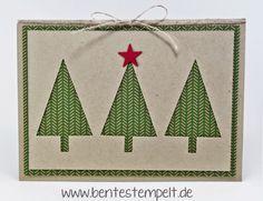 Schnelle Tannenbaumkarte