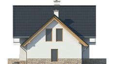 House Project LK&1130 Ceramic Roof Tiles, Gas Boiler, Balcony Doors, Three Bedroom House, Barn House Plans, Interior Walls, Home Fashion, Ground Floor, Home Projects