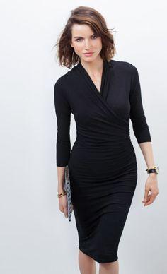 Darton Dress   BAUKJEN   SS15 http://www.baukjen.com/shop/baukjen/dresses/darton-dress-caviar-black.htm