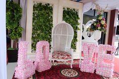Dekorasi Pernikahan Shabby Chic