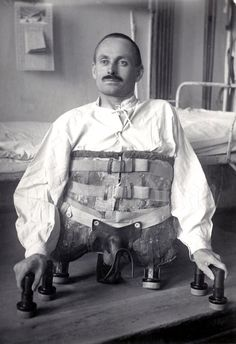 Remembering the time when I was severely wounded during an air-raid in France on 25. 4. 1917. Dominikus Müller