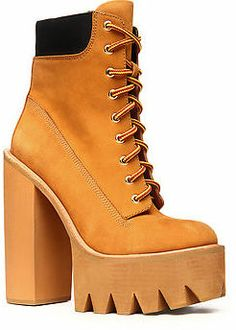 Jeffrey Campbell The HBIC Boot in Wheat Nubuck (Exclusive) on shopstyle.com