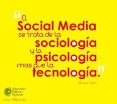 Las #RedesSociales son mucho más que tecnología