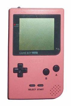 Game Boy Pocket Console (Pink) - Game Boy