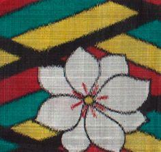 Kimoyes item: 15039 - Extra long lengths of vintage 40s Japanese meisen silk.