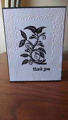 Elegant Thank You by ArtByAdetta on Etsy
