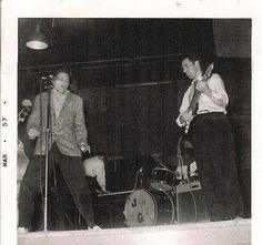 Billy Lee Riley y Roland Janes
