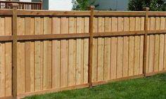wood fence designs | Architectural Design