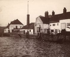 River Police Station at the mouth of the Ouseburn