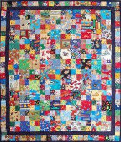 i spy quilt pattern | Width = 119 cm, height = 138 cm.)