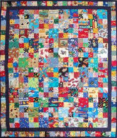 i spy quilt pattern | Width = 119 cm, height = 138 cm.)