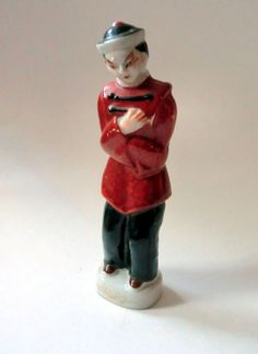 VINTAGE Asian Man Figurine - Made in Occupied Japan
