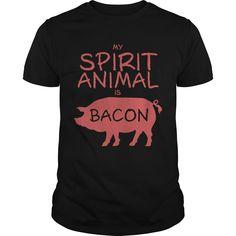 Spirit animal – bacon - Tshirt