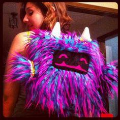 Plushy Monster Rave Backpack! <3  (^_^)