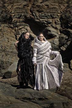 These garments were created by Arielle Arndt from Nelson Mandela Metropolitan University.