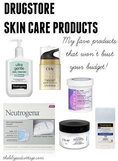 Drugstore Skincare P