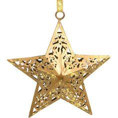 3D Filigree Star Ornament - Ten Thousand Villages Canada