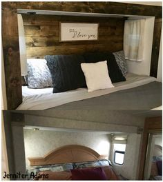 Camper Renovation 625859679449798115 - 10 + Ideas for RV Headboards – RV Life Military Style Source by mandatorysurvival Travel Trailer Remodel, Travel Trailers, Camper Trailers, Travel Trailer Decor, Travel Trailer Living, Travel Trailer Camping, Rv Travel, Rv Interior, Interior Design
