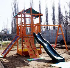Детская площадка, качели, песочница