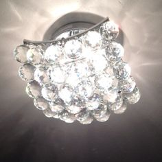 New entryway flush-mount chandelier for our home:). Overstock.com. Love