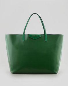 Antigona Large Box Shopper Tote Bag, Emerald by Givenchy at Bergdorf Goodman.