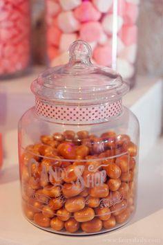 Idée de sucreries à mettre dans mon sweet bar, mariage gourmandise
