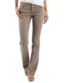 Pantalon femme coupe bootcut