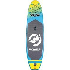 With a small storage footprint, easy portability, and overall durability, this WOW Rover Flatwater Inflatable Stand Up Paddle Board & Paddle Set is your best bet out on the water doing what you love most. Sup Stand Up Paddle, Sup Paddle, Inflatable Paddle Board, Sup Boards, Thing 1, Standup Paddle Board, Small Storage, Easy Storage, Stand Up Paddling
