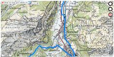 Glarus GL Velowege Fahrrad velotour #mobil #routenplaner http://ift.tt/2D7DChu #maps #schweiz