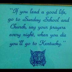 Kentuckians have been influencing and creating American and world culture for a long time. We were the first to sing Happy Birthday, fry chicken, and slap high-fives. We invented bourbon, bluegrass music, and the mother-freaking Kentucky Derby.  We redefined sport with Ali, Sea Biscuit, and Rondo. We invented the gas mask, people.  We are the real deal.    We are Kentucky.