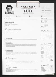 Maxima Resume Template