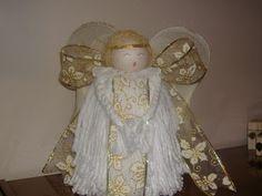 Manualidades Nieves: Angel Fregona