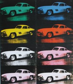 Cars by Andy Warhol