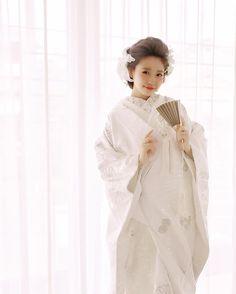 白無垢に似合う洋髪アレンジまとめ   marry[マリー]