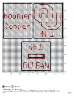Oklahoma University tbc Plastic Canvas Tissue Boxes, Plastic Canvas Patterns, Ou Football, Baseball Teams, College Football, Football Helmets, Cross Stitch Patterns, Quilt Patterns, Crochet Patterns