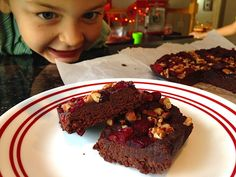 Paleo Raw Date Brownies