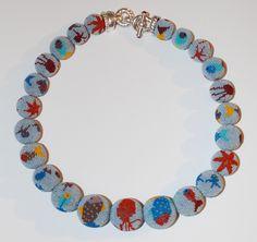 Michaela Ruppnig - Meereswelt  www.ruppnig.com  Beadwork Glasperlen Schmuck jewelry art