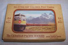 Vintage Postcards 24 Views The Canadian Pacific Rockies Byron Harmon Photos #eBay #GotPicks