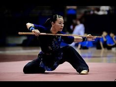 Wushu World Champion Jade Xu - Gold Performance - YouTube